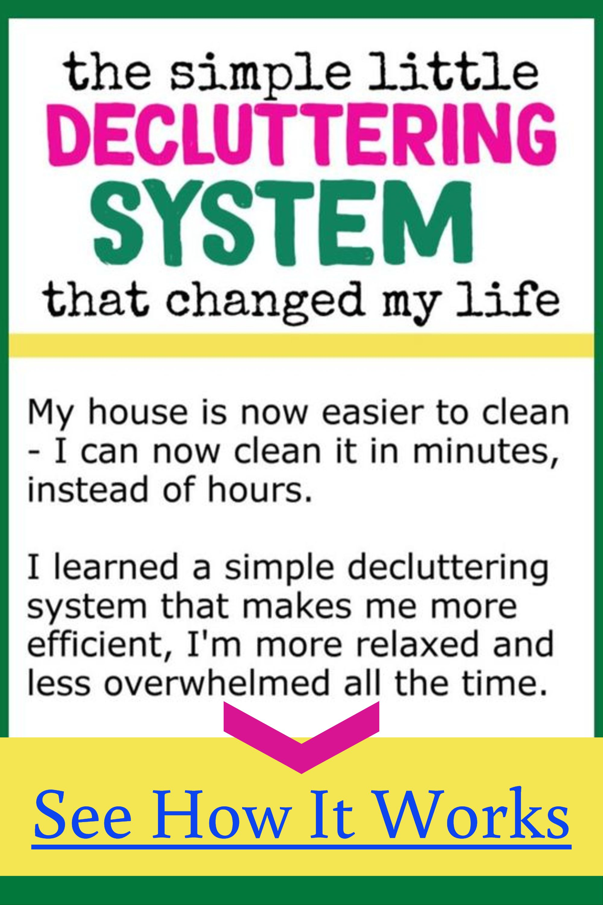 Declutter Your Home Decluttering Ideas Tips Tricks That Work To Get Organized Stay Organized Decluttering Your Life Declutter Your Home Declutter Home Organization Hacks