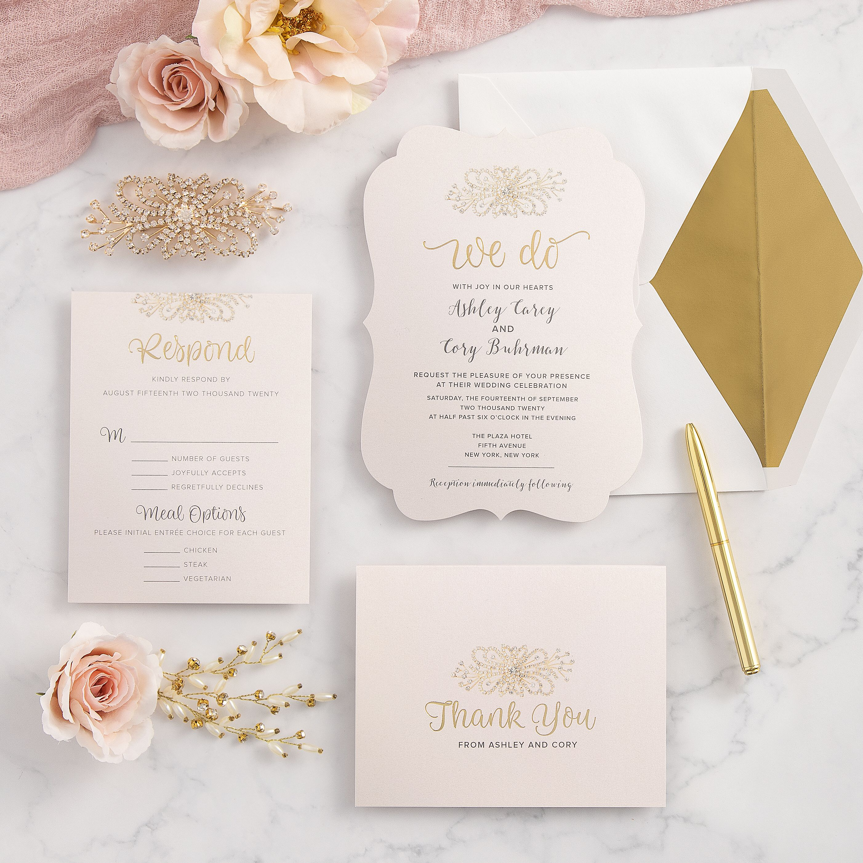 Wedding Invitations With Michaels