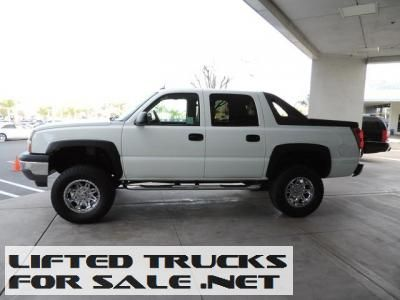 2005 Lifted Chevrolet Avalanche 1500 2wd Crew Cab Ls Lifted