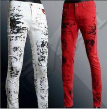New Mens Denim Stylish Designed Casual Slim Fit Skinny Jeans Long Pant Trousers
