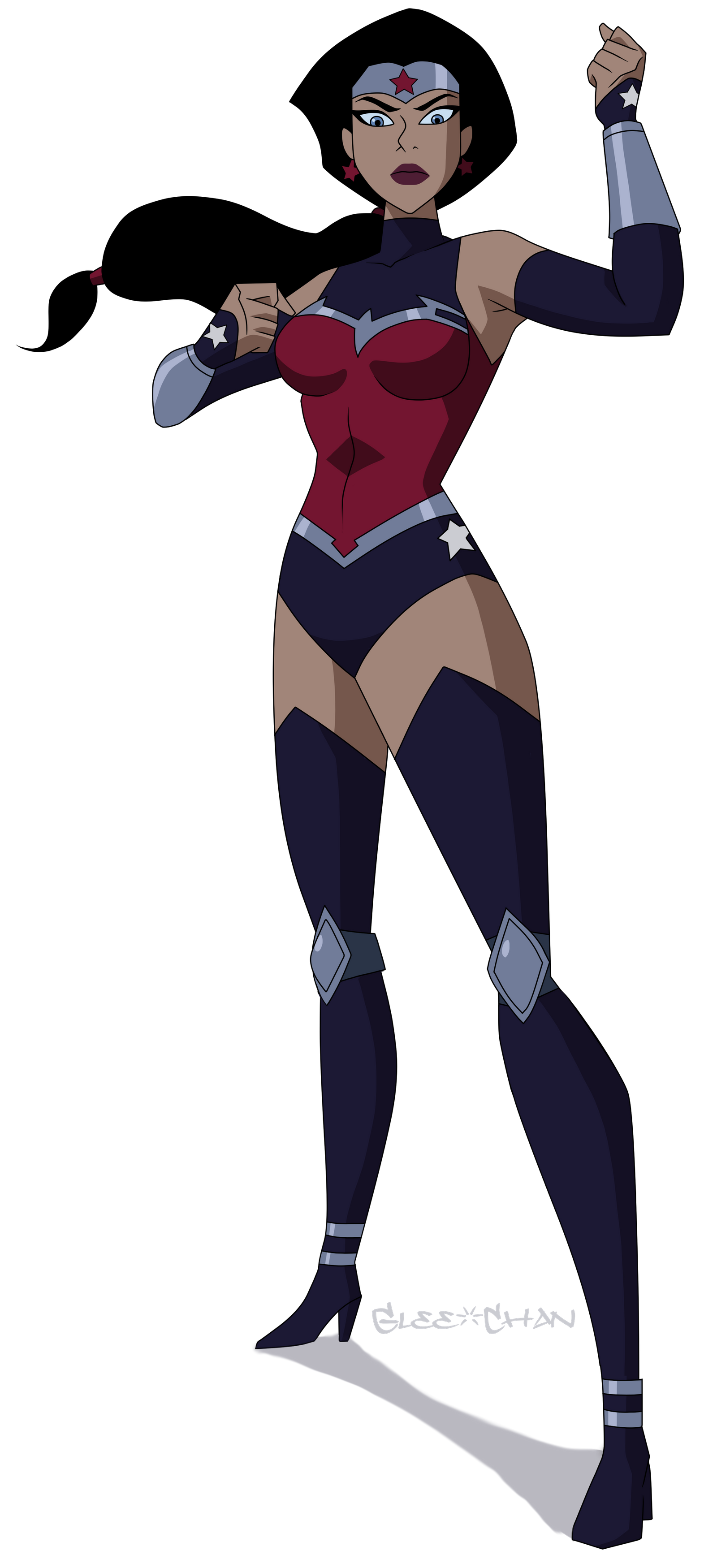Wonder Woman Unlimited War By Glee Chan On Deviantart In 2020 Justice League Wonder Woman Female Comic Characters Justice League War