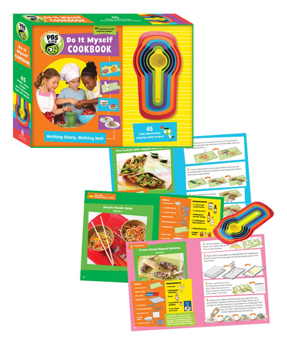 Do it myself cook book set by waxworks zulily zulilyfinds life do it myself cook book set by waxworks zulily zulilyfinds solutioingenieria Choice Image