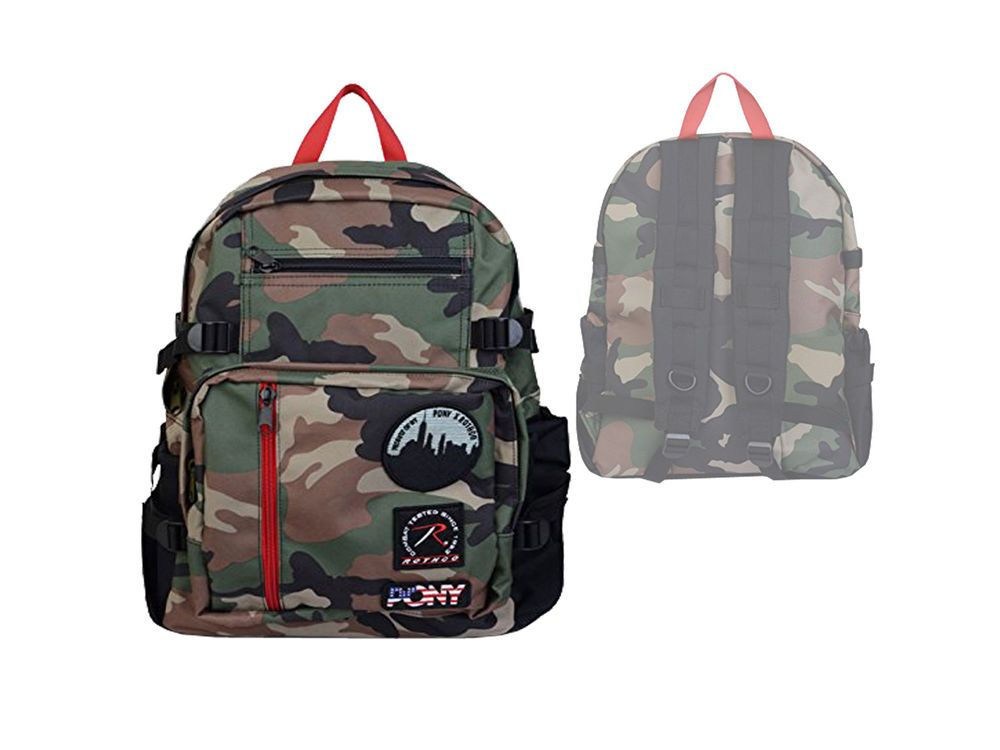 a5d220a1e0ae4 Pony Rucksack camouflage Rothco Backpack Limited Edition für Freizeit Schule
