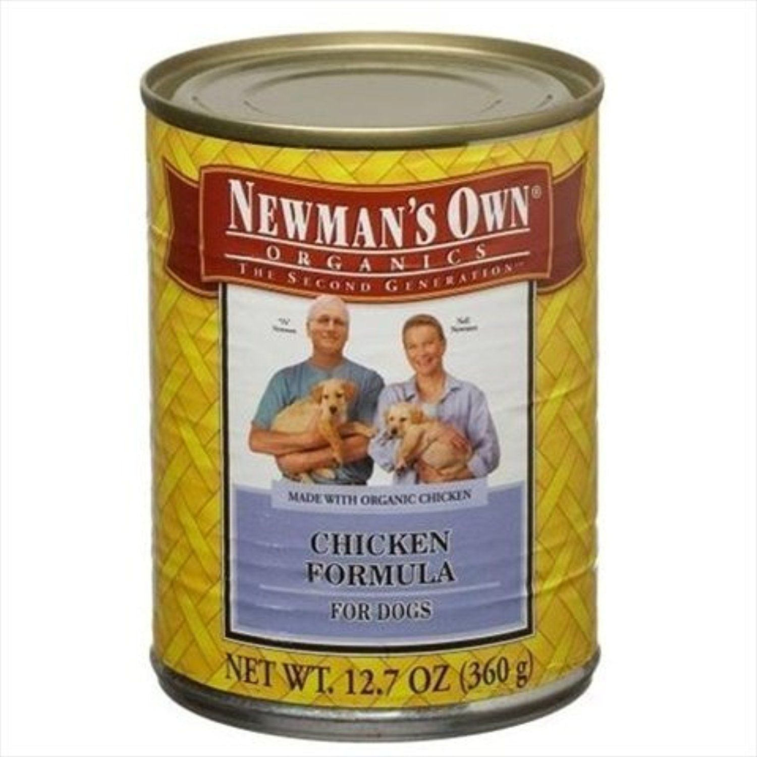 Newman's Own Formula For Dogs Chicken and Brown Rice 12