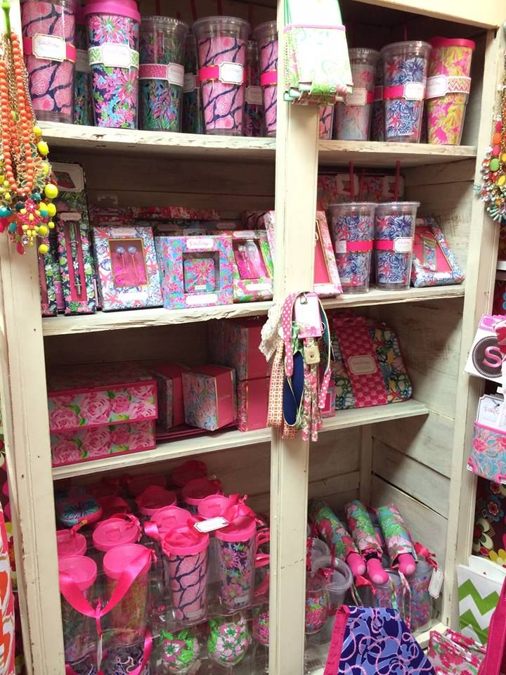 If you missed out on the Lilly Pulitzer accessory line at Target, you can still get your Lilly fix at Homestead Handcrafts! Vendor #8410 at Blanco has a colorful selection of Lilly Pulitzer ready for Spring and Summer.