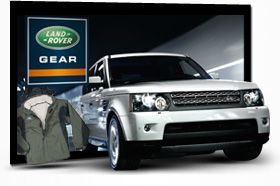 Show off with your Land Rover and your Gear.