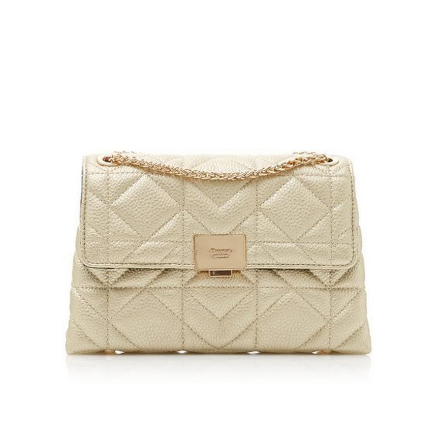EVANGELINA - Quilted Shoulder Bag - gold  a8642224a40b1