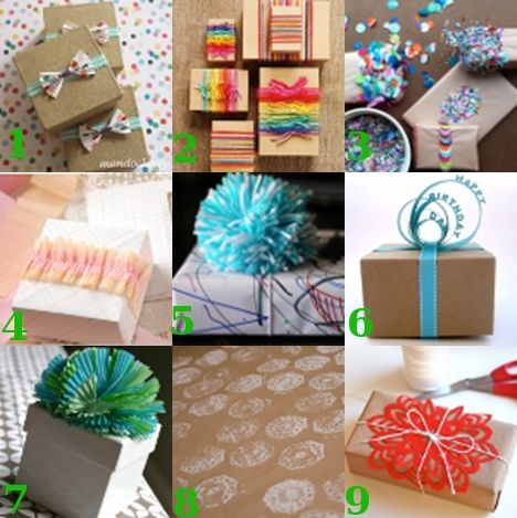 link love cute gift wrap ideas diy gift wrapping bows