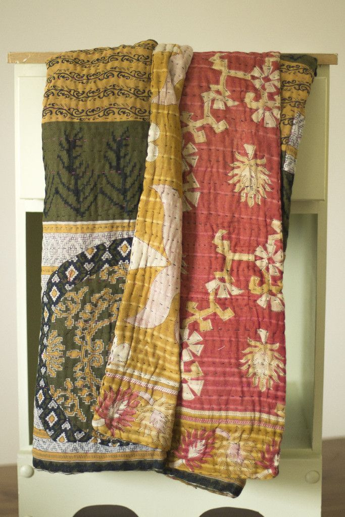 Toasty Kantha Throw | dignify