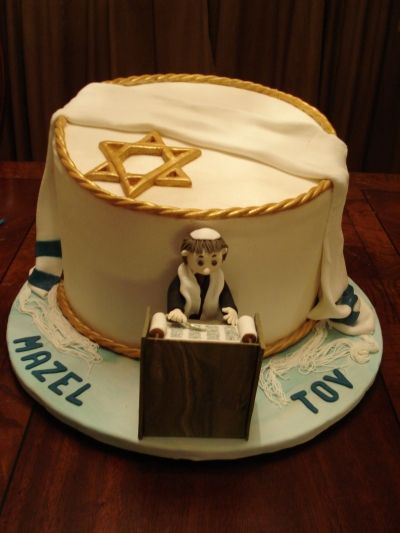 Bar Mitzvah Cake By Cakediosa On Cakecentral Com Feelin