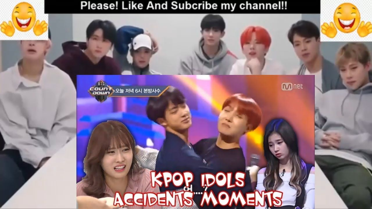 Bts Reaction About Videos Funny Kpop Idols Accidents Moments 2019 Bts Reactions Videos Funny Kpop Idol