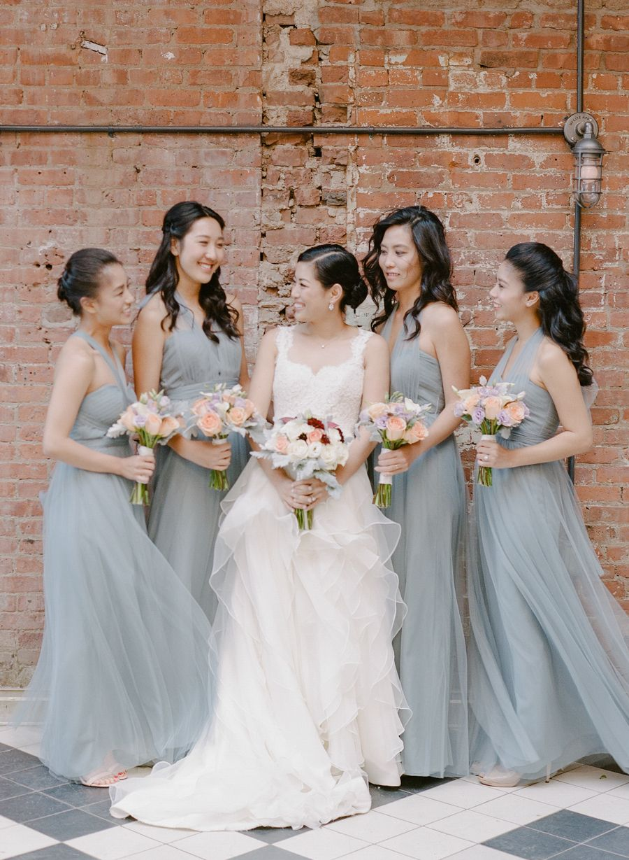 Fall wythe hotel wedding with hayley paige dress hayley paige