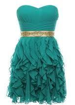 pretty blue dress....
