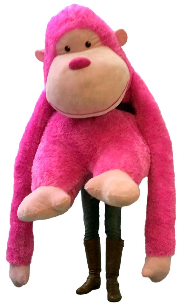 24c60321ef3 Big Plush Personalized Giant Teddy Bears and Custom Large Stuffed Animals - Giant  Stuffed Gorilla with