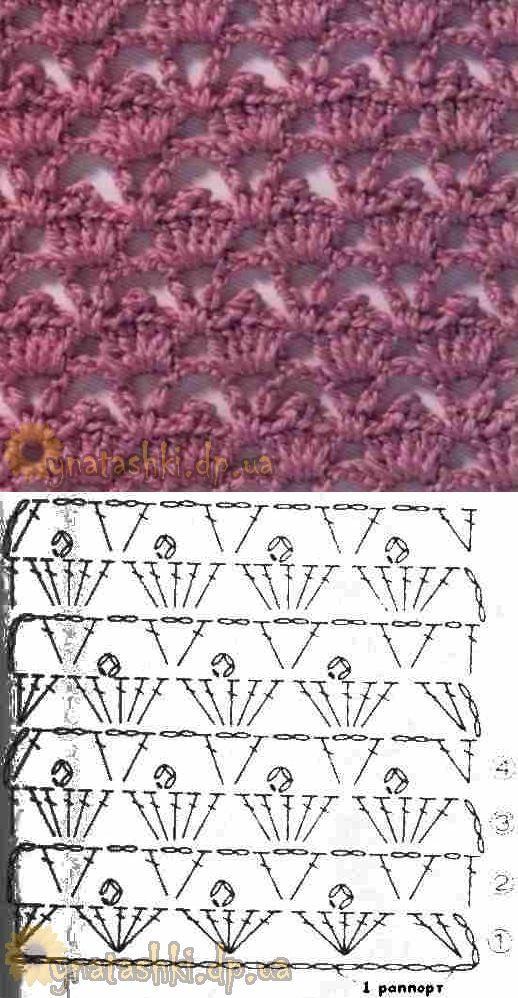 Pin de Wàfàà Tàßà en point de Crochet   Pinterest   Puntadas ...