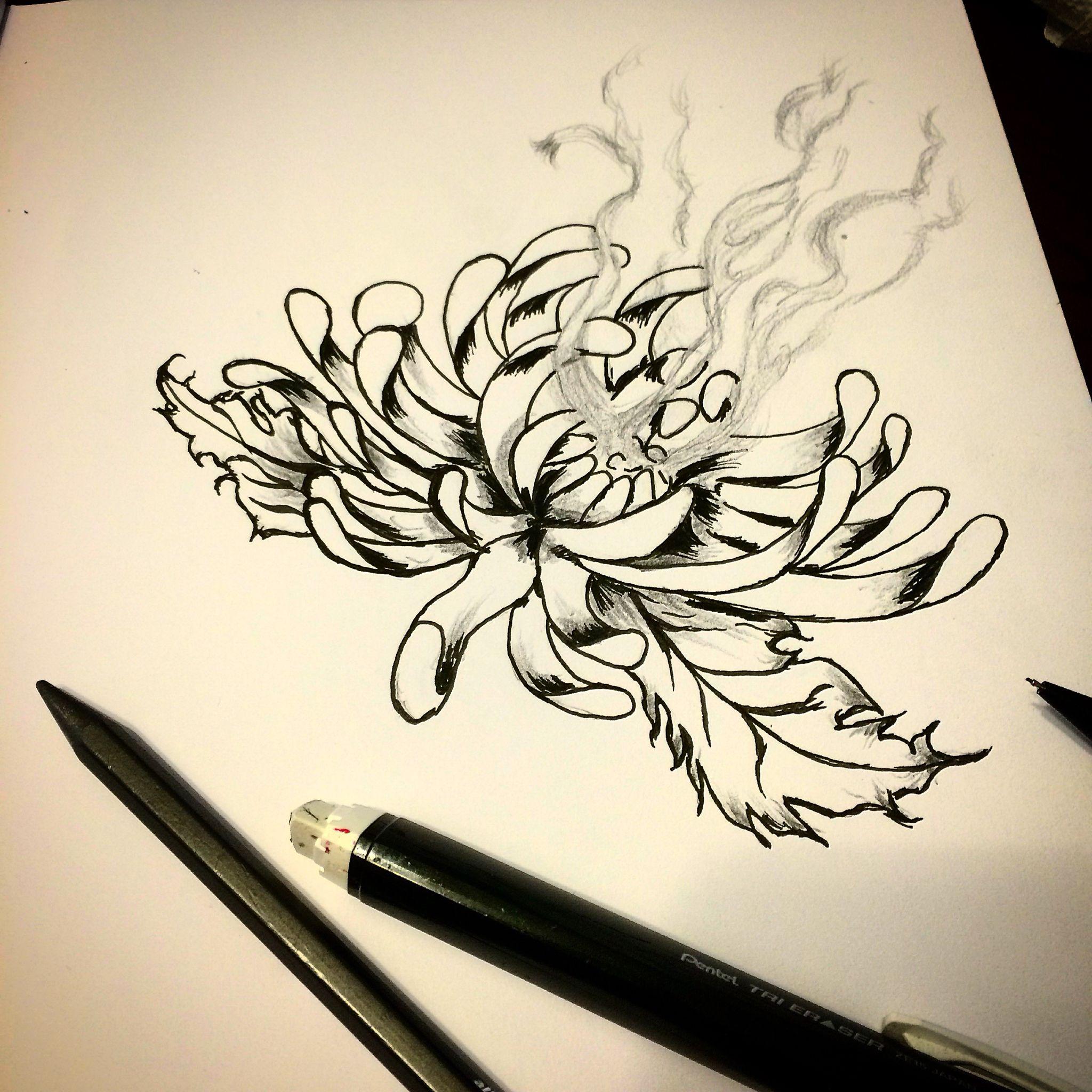 Smoking Lotus Art Pinterest Lotus