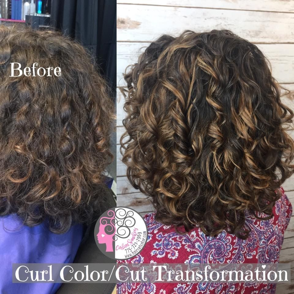 Naturally Curly Highlights Brunette Curly Hair Styles Naturally Curly Hair Styles Colored Curly Hair