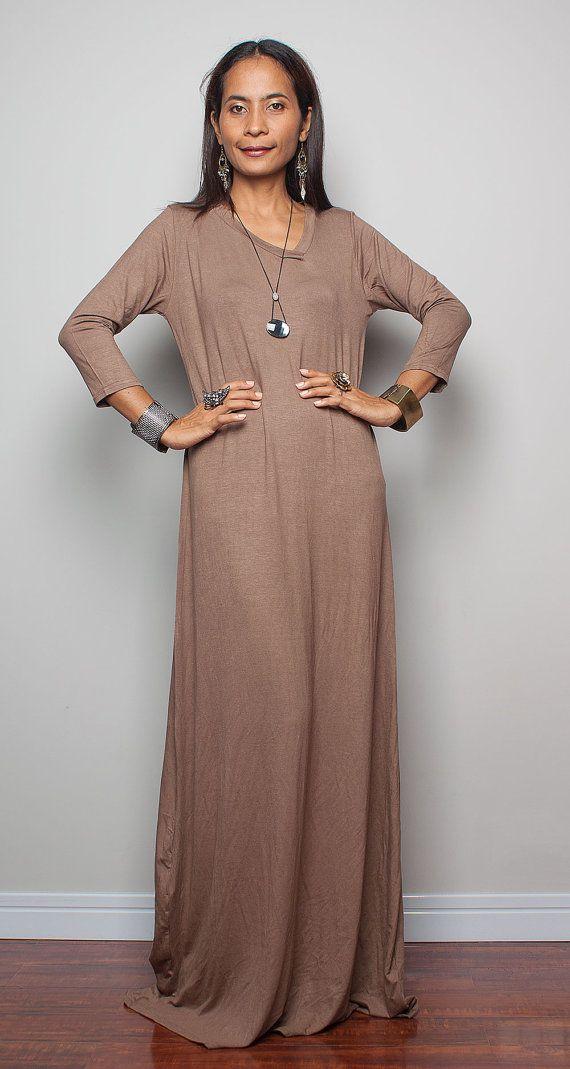 37+ Brown maxi dress information
