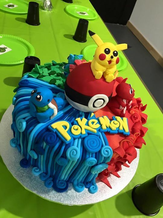 Pokmon Cake Cakes In 2018 Pinterest Pokemon Birthday Pokemon