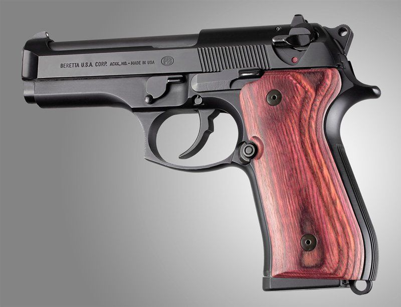 Beretta 92 Rose Laminate | Hogue Inc.