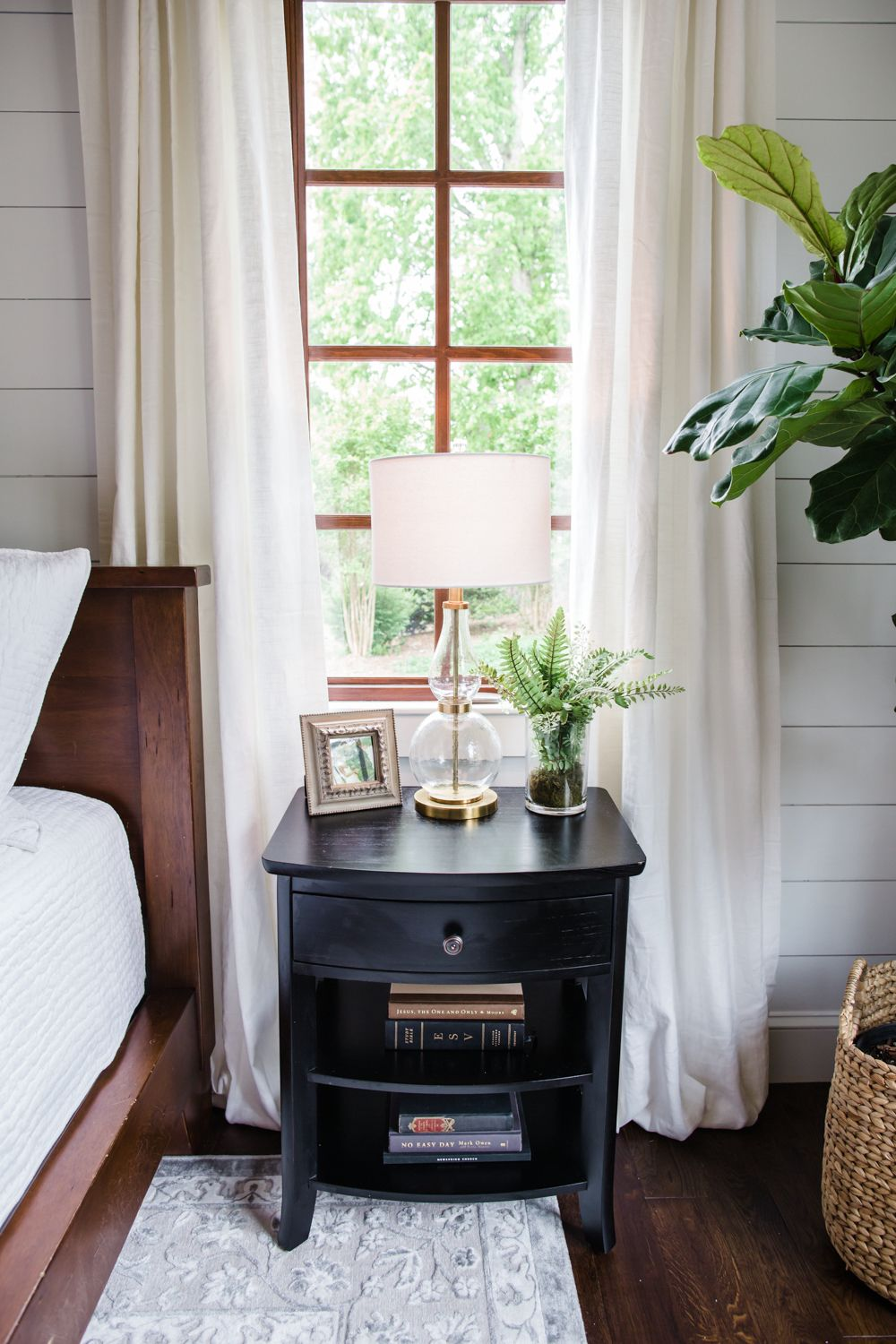 The Luxe Lifestyle Master Bedroom Reveal: White And Grey Master Bedroom, One Room Challenge, Master
