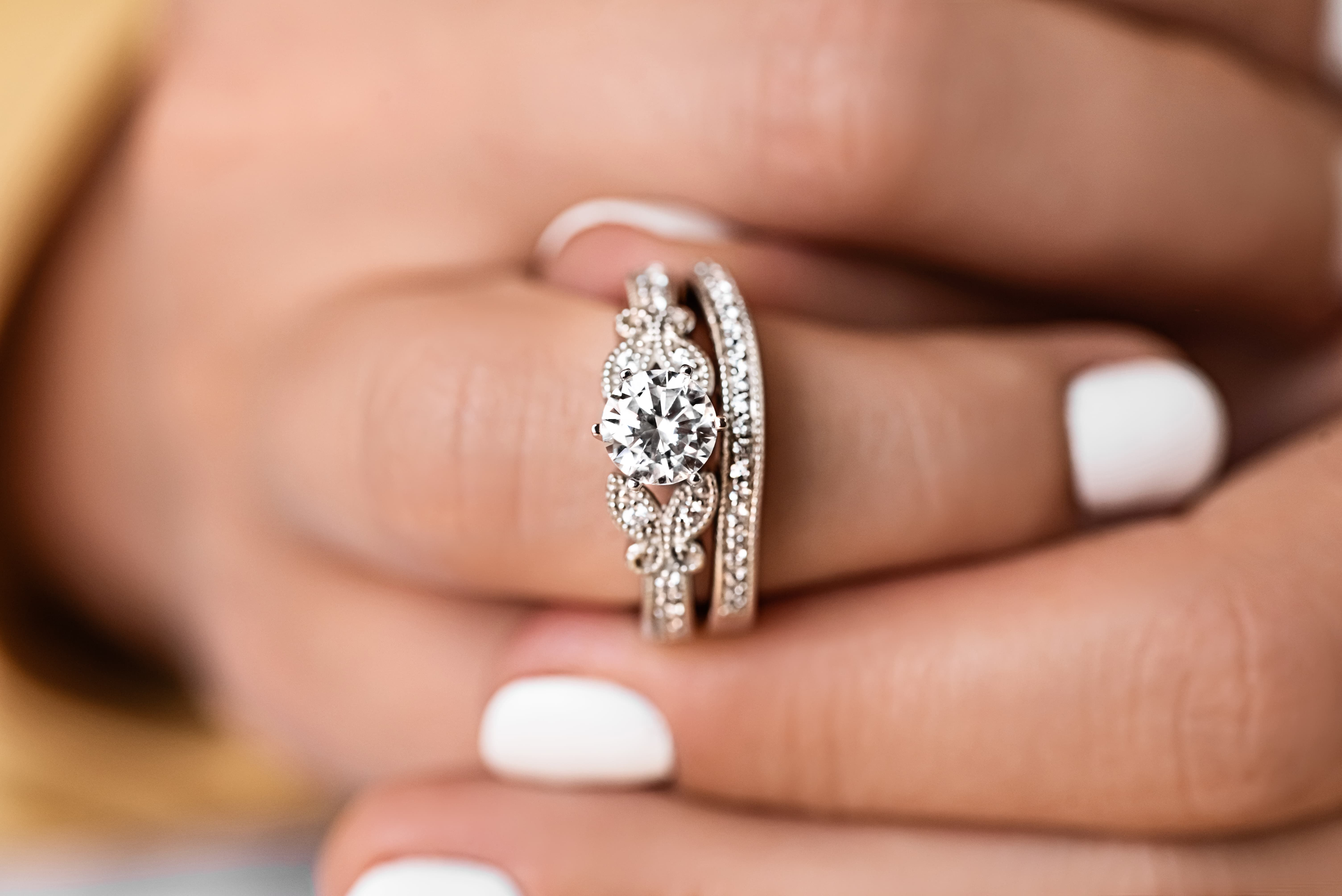 Charisma Butterfly Engagement Ring Engagement rings