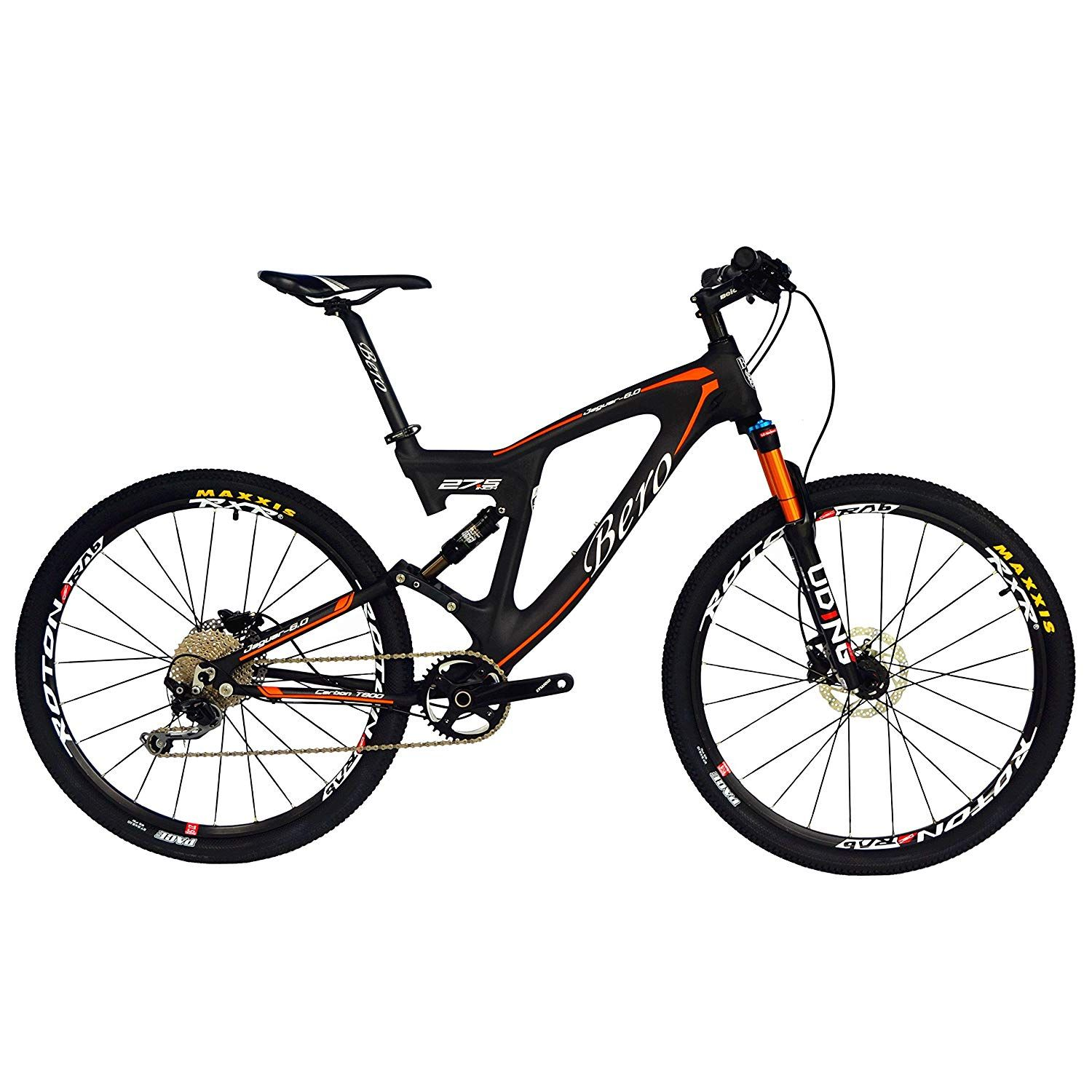 BEIOU Carbon Dual Suspension Mountain Bicycles   Bicycle
