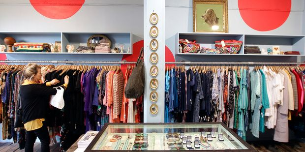 Auckland S Best Vintage And Designer Bargain Stores Vintage Store Second Hand Clothing Stores Design
