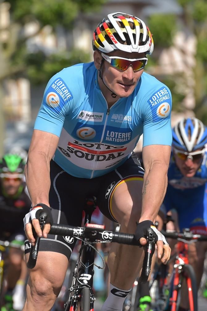 Andre Greipel during stage 3 in Luxembourg. (Serge Waldbillig/ Luxemburger Wort Photographe)