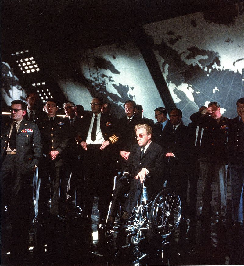 Behind The Scenes Images From Dr. Strangelove (including
