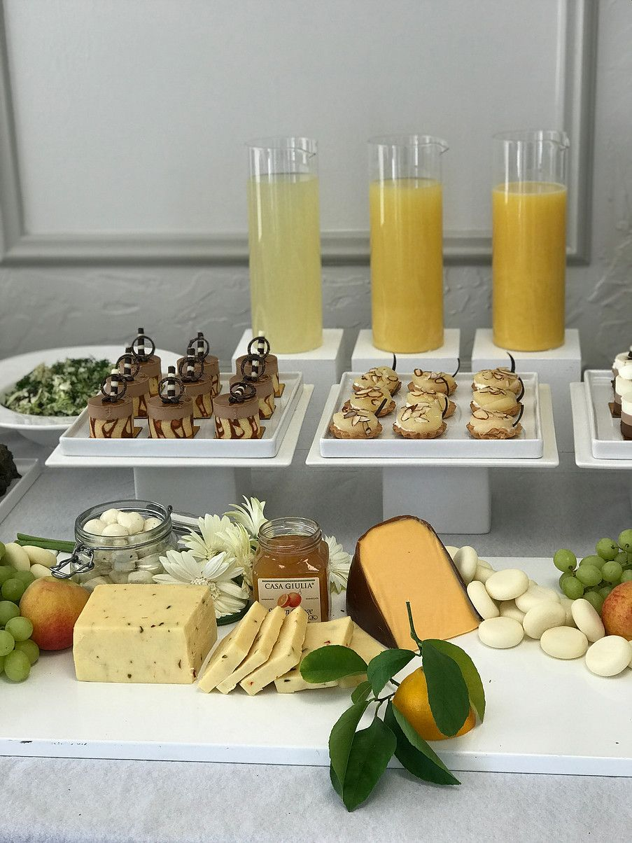 Catering by Niaz Zia Design Food table decorations