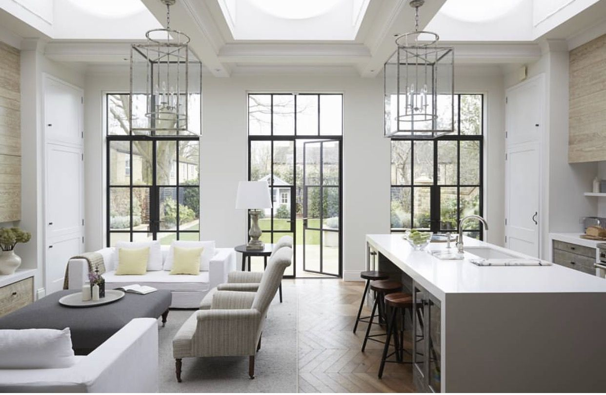 3 Sets Of French Doors To The Patio Modern Victorian Homes
