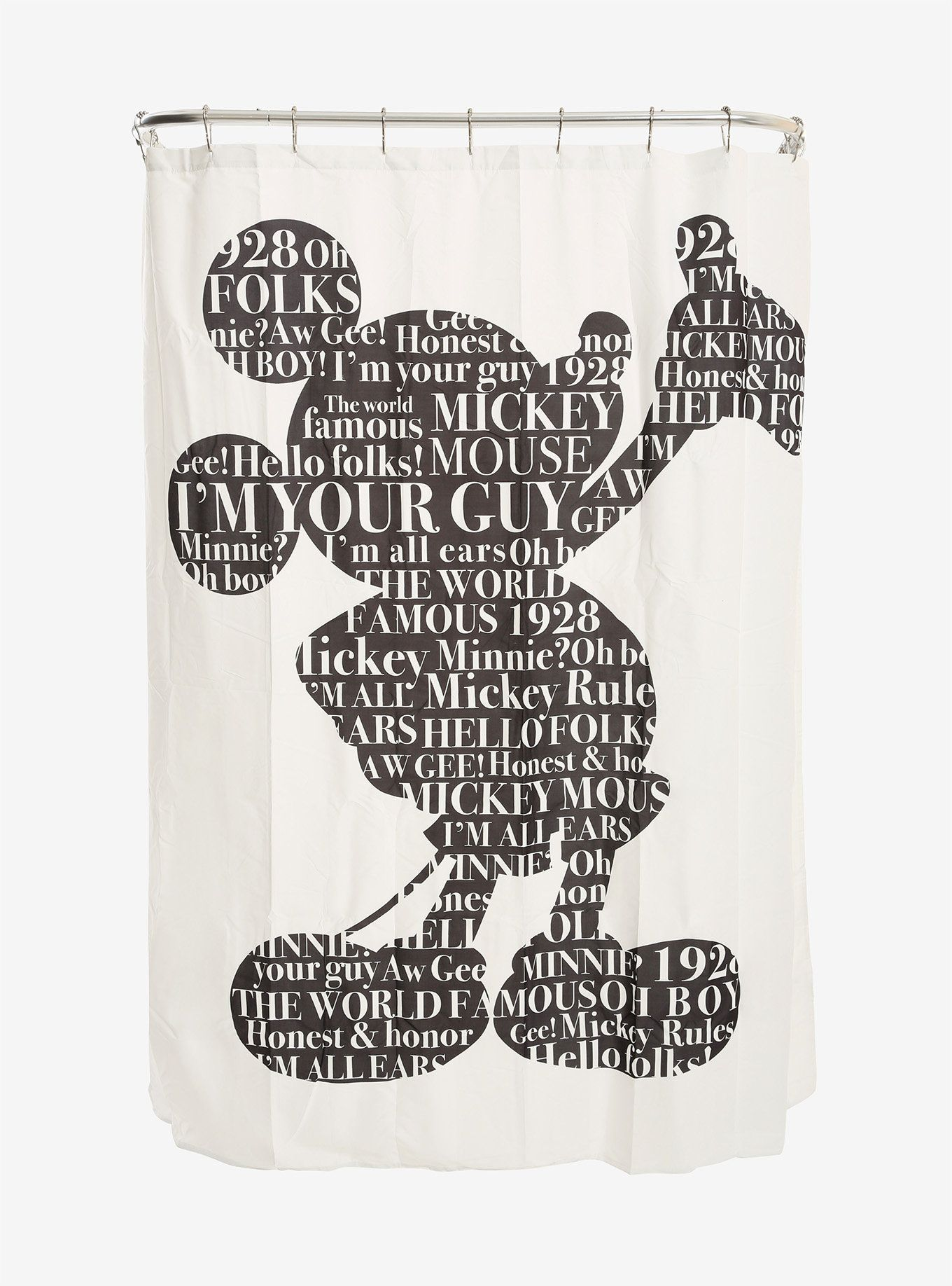 Disney Mickey Mouse Shower Curtain Mickey Mouse Shower Curtain