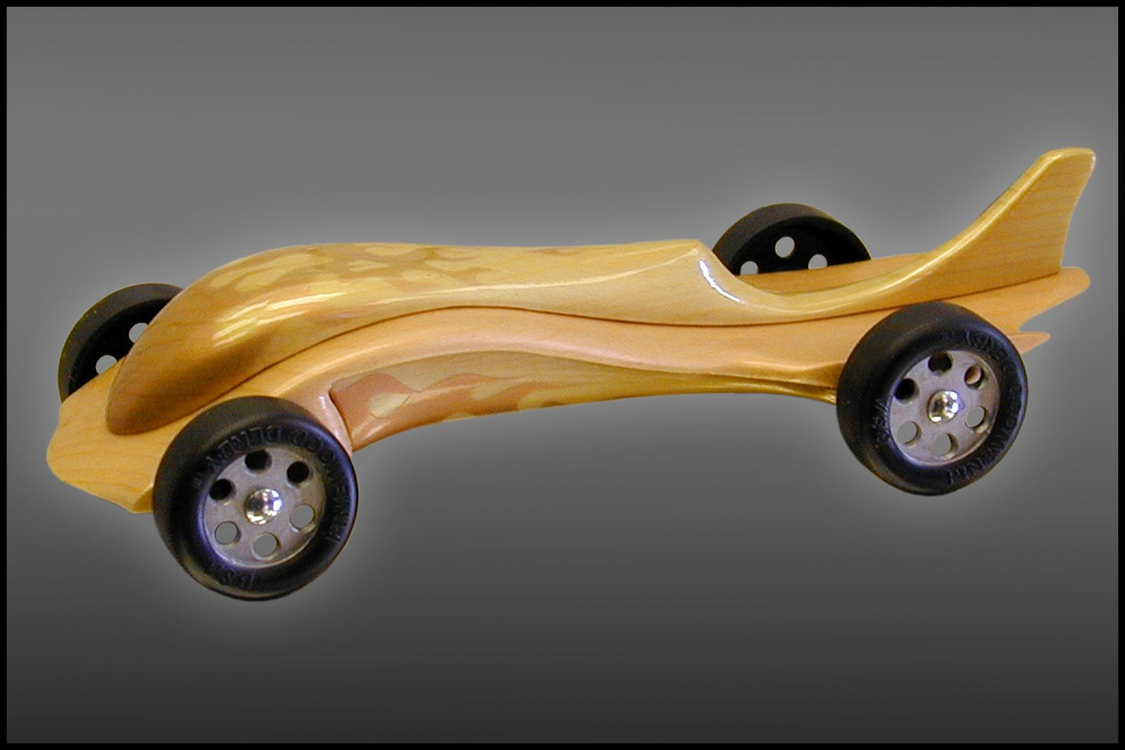 pinewood derby car dads version of a pinewood derby car - Pinewood Derby Car Design Ideas