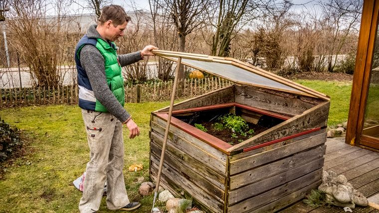 Aus Einem Hochbeet Ein Fruhbeet Bauen Hochbeet Garten Hochbeet Und Fruhbeet Bauen