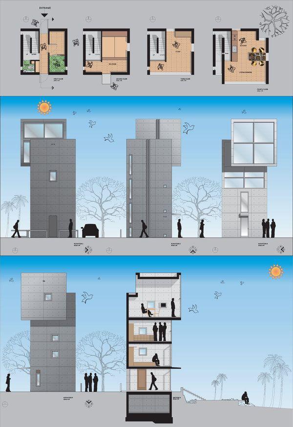 Casa 4 4 tadao ando kobe jap o for Casa moderna 4x4
