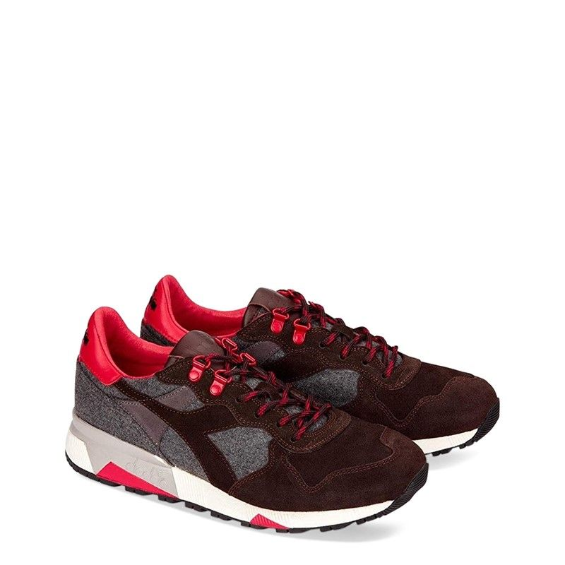 Diadora Heritage Trident 90 Loden 30042 Men Brown Sneakers