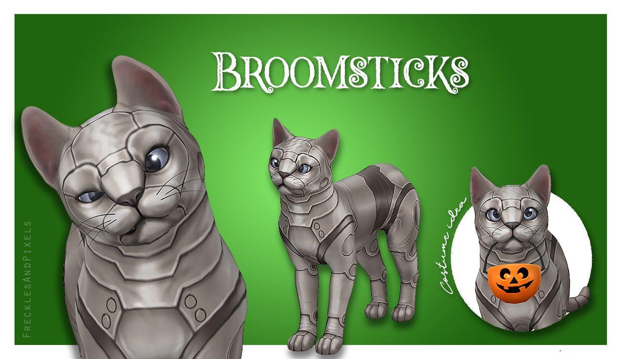 Lana Cc Finds Frecklesandpixels Broomsticks The Cat
