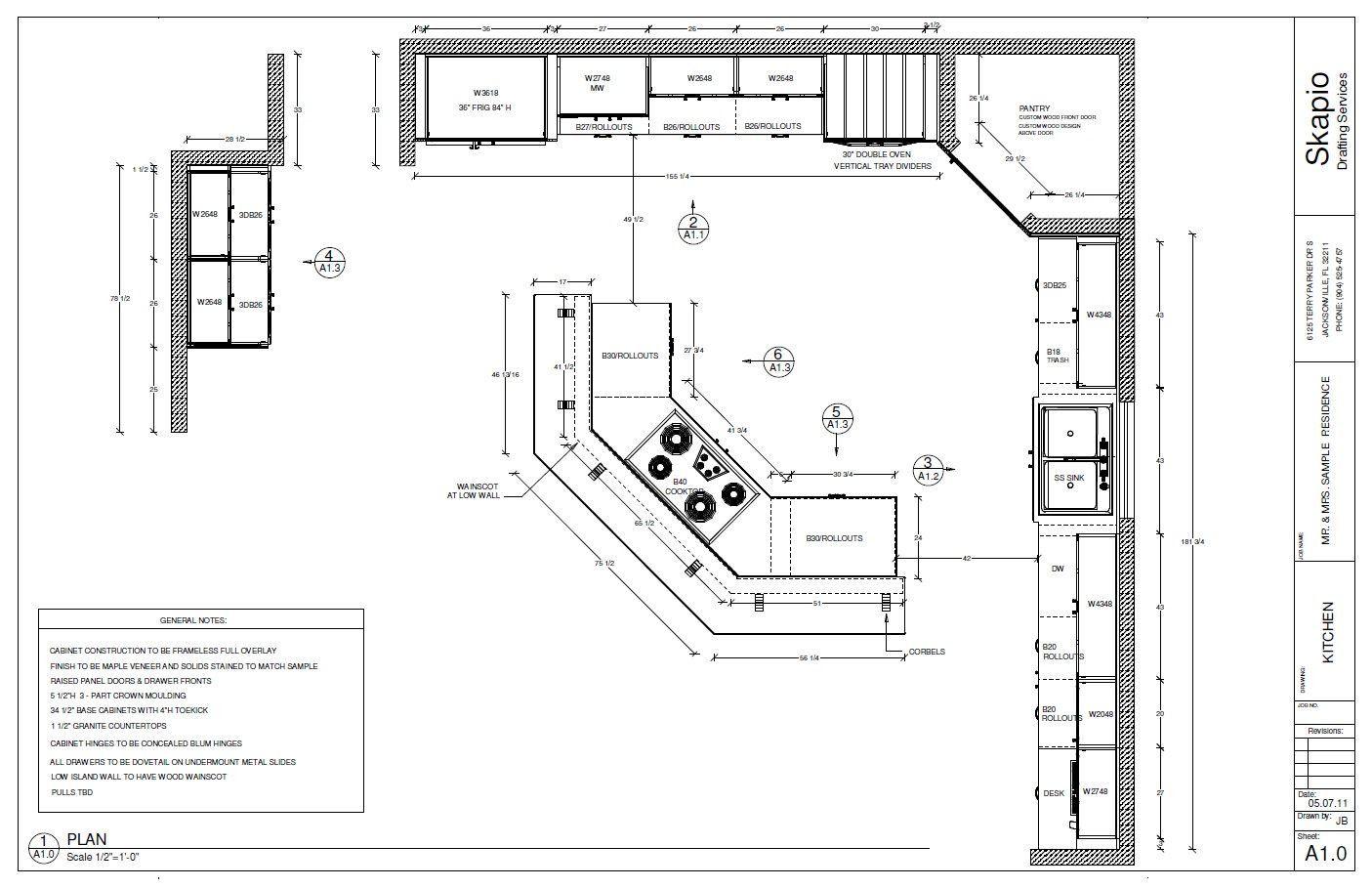 16 X 16 Kitchen Layout Sample Kitchen Floor Plan Shop
