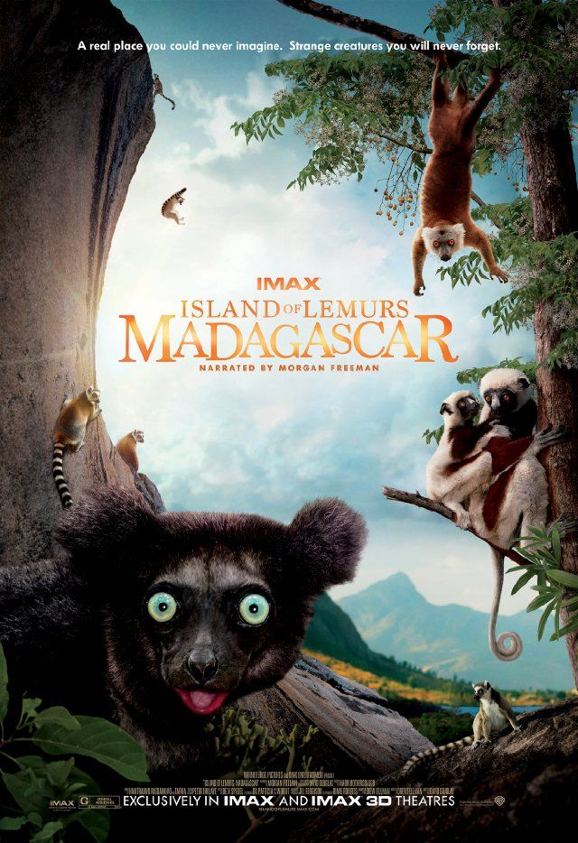 Island of Lemurs: Madagascar A look at the life of wild lemurs living in Madagascar. #movies #movies2014 #posters