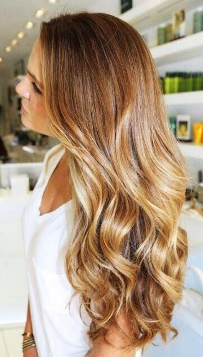 love this color - thinking about going darker   Honey blonde ...