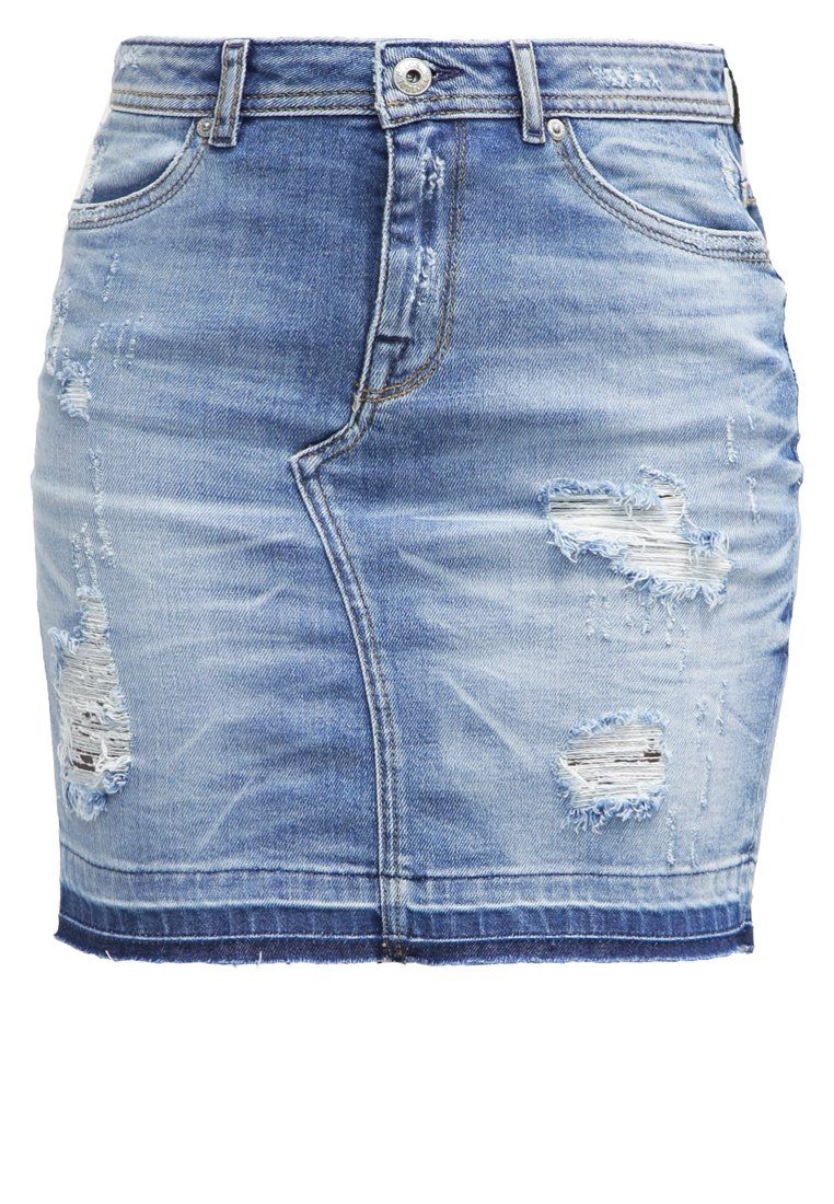 Jupe jean country femme