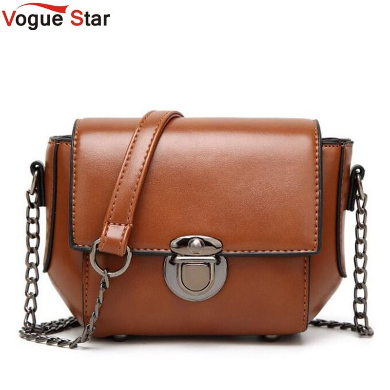 Price tracker and history of Teridiva 2017 New Fashion Vintage Bags Women  Leather Shoulder Bag High Quality Women Messenger Bag Brand Designed Chain  Handbag 2e85aaec45949