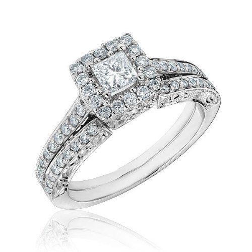 Fleur-de-lis Diamond Bridal Set 1ctw - Size 7 Reeds http://www.amazon.com/dp/B005ES6T5S/ref=cm_sw_r_pi_dp_VlMxvb1G2CTYW