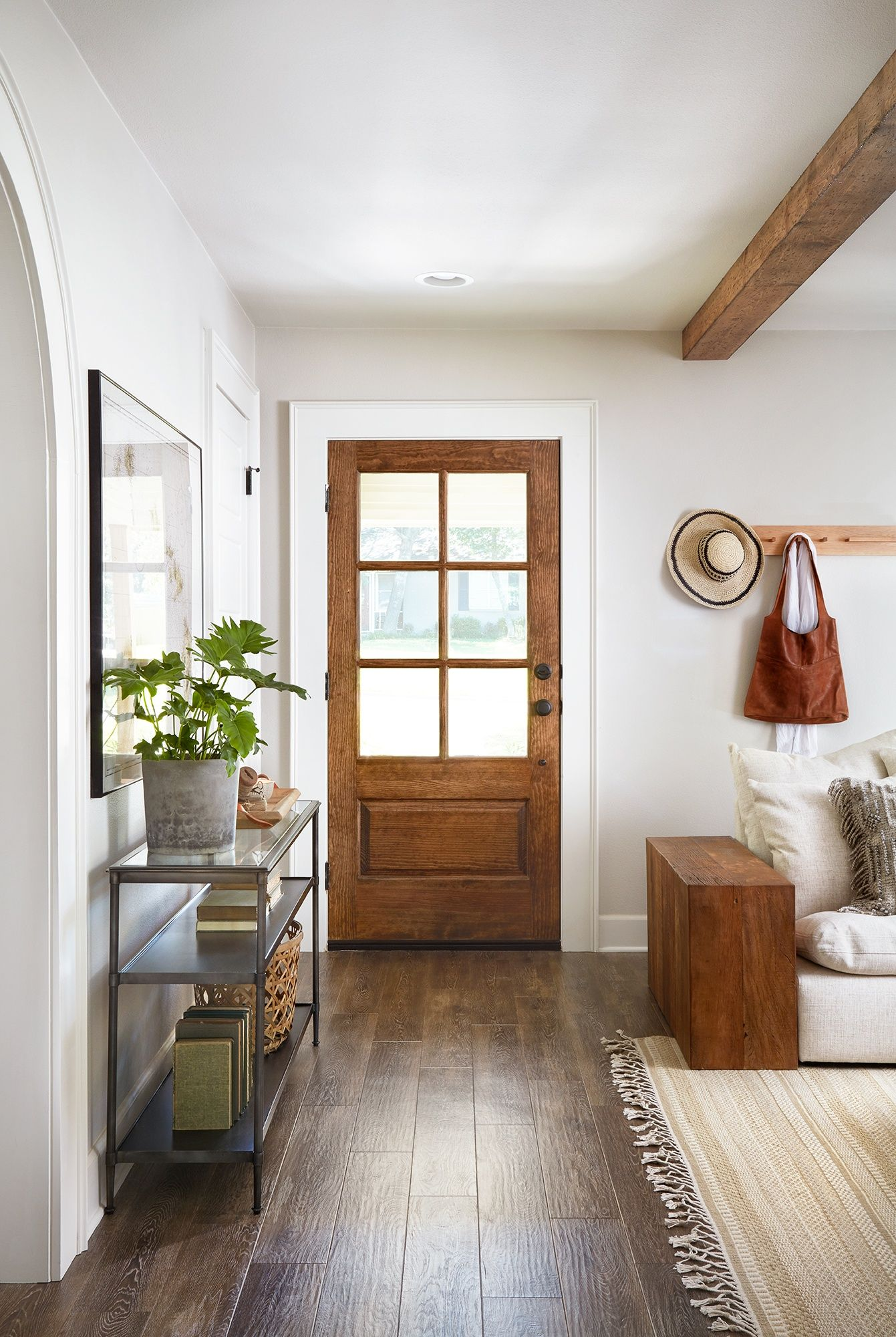 Joanna gaines hallway decor  Episode  Season   Decorating Ideas  Pinterest  Fixer upper