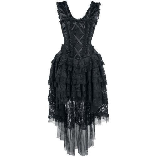 bekleidung kleider frauen schwarz jetzt online kaufen emp fasching pinterest. Black Bedroom Furniture Sets. Home Design Ideas