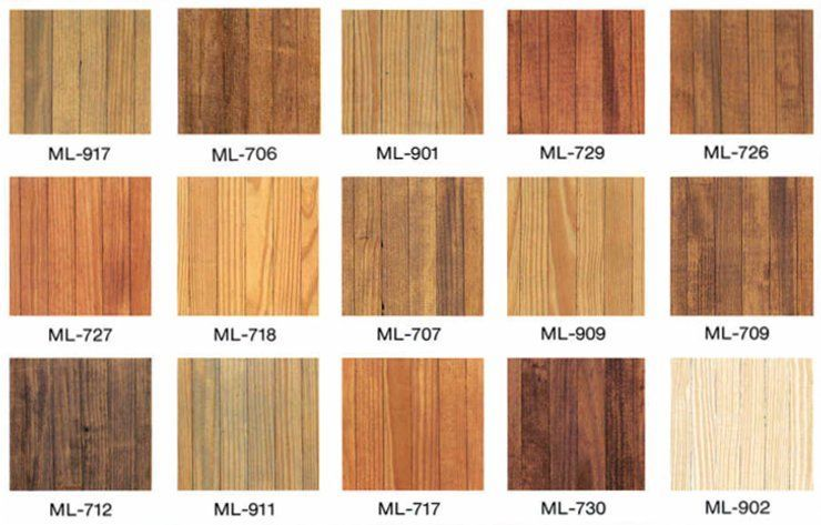 Pine Furniture Stain Colors