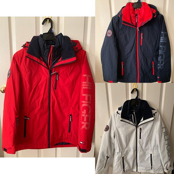 0f2ce0557 Tommy Hilfiger #3-in-1 Systems #womensfashion #Jacket #Fall #Winter White  Red Navy Blue L XL #TommyHilfiger #Softshell #Outdoor #Insulated  #blackfriday ...