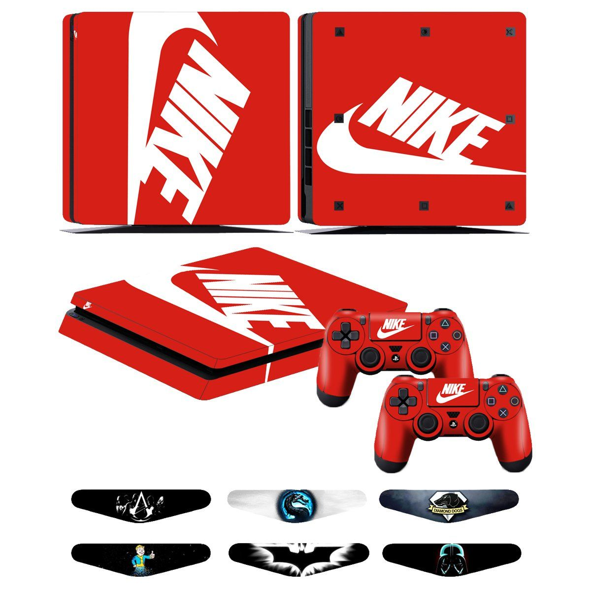 8957f2bb28fd7 PS4 Slim Skins - Decals for PS4 Controller Playstation 4 Slim ...