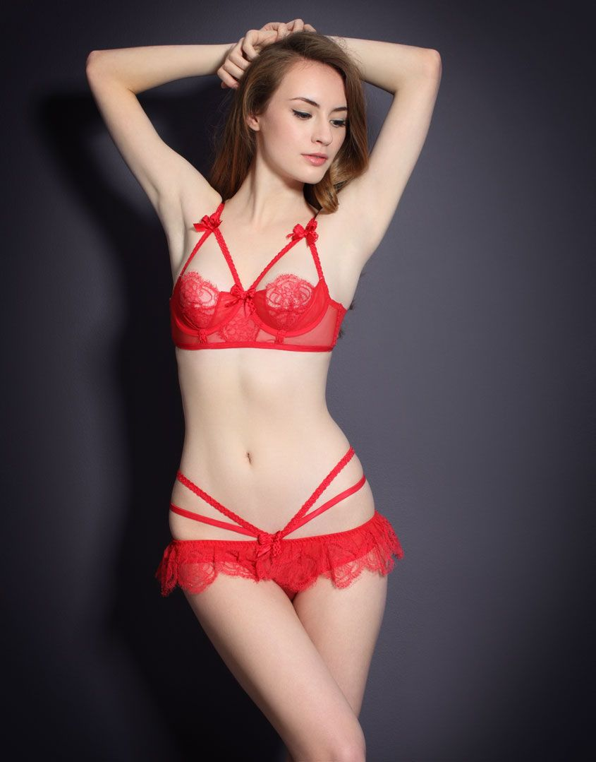 4d0a21b6a3c78 Agent Provocateur Alina in Red. | Red lingerie